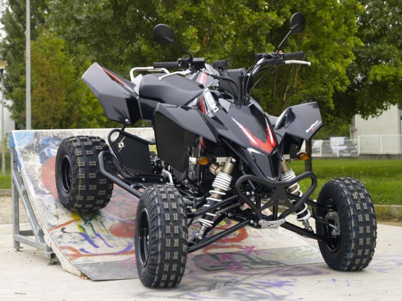 HEEL GUARDS FOR ATV SUZUKI LTR 450 2007