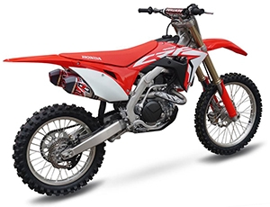 NEW EXHAUST SYSTEM FOR HONDA CRF 450R 2016