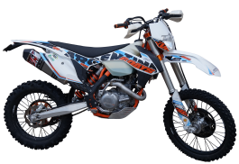 EXHAUST SYSTEM FOR THE KTM 450 EXC-F 2014-2016