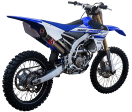 EXHAUST SYSTEM FOR THE WR 250F 2015-2016
