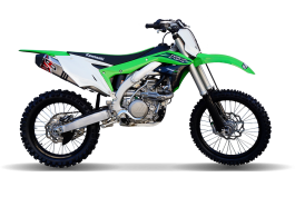 EXHAUST SYSTEM FOR THE  KAWASAKI KX450F 2016