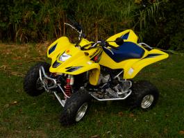 HEEL GUARDS FOR ATV SUZUKI LTZ 400 2005